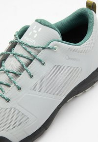 Haglöfs - L.I.M LOW PROOF ECO - Trail running shoes - stone grey/willow green - 5
