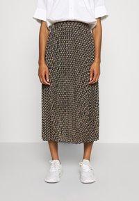 Dorothy Perkins - MIDI SKIRT - A-line skirt - black - 0