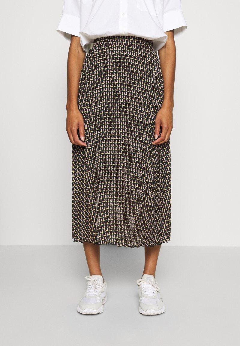 Dorothy Perkins - MIDI SKIRT - A-line skirt - black