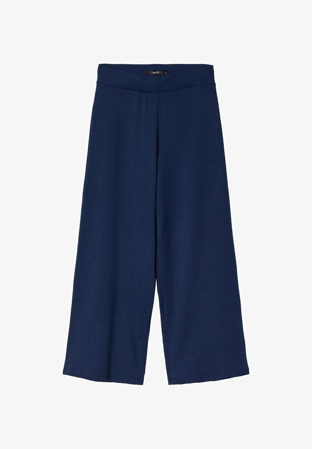 MIT WEITEM BEIN - Pantaloni - dress blues