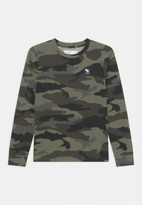 Abercrombie & Fitch - PATTERN - Long sleeved top - green - 0