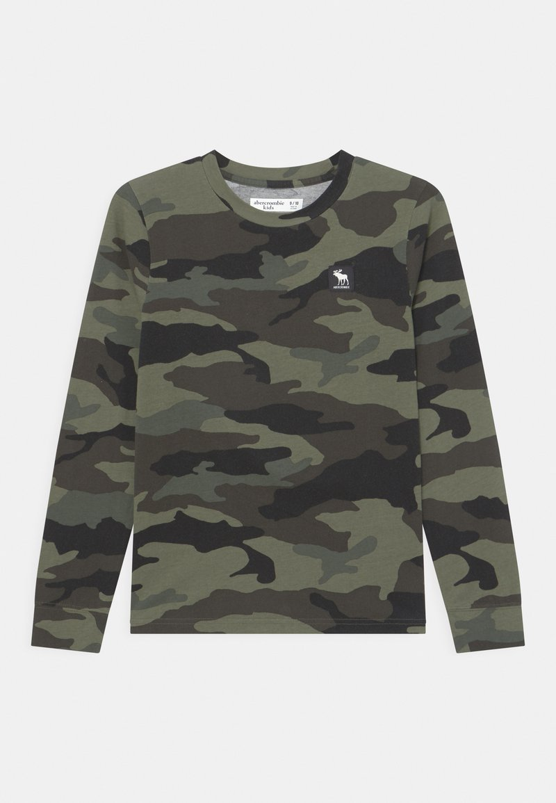 Abercrombie & Fitch - PATTERN - Long sleeved top - green