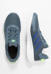 adidas Performance - TENSAUR RUN UNISEX - Neutral running shoes - legend blue/royal blue/signal green - 1