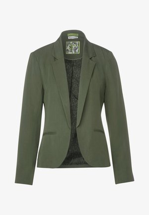 MIT TURN-UP - Blazer - grün