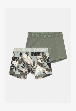 JUNGLE SAMMY 2 PACK - Pants - puritan gray