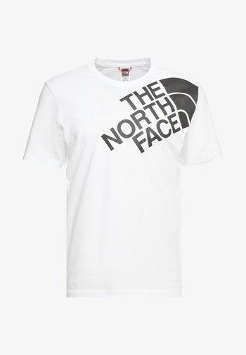 SHOULDER LOGO TEE - T-shirt imprimé - tnf white
