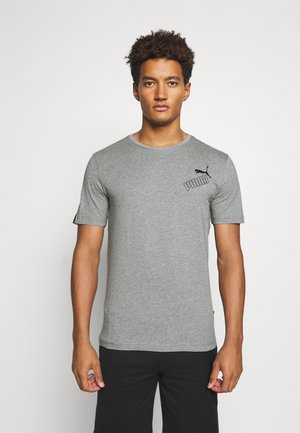AMPLIFIED TEE - T-Shirt print - medium gray heather