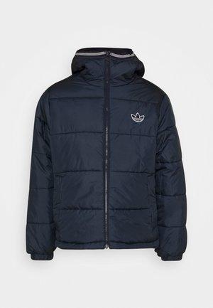 HOODED PUFF - Zimní bunda - dark blue