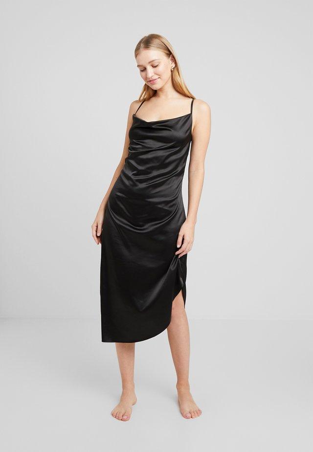 AVA DRESS - Camicia da notte - black