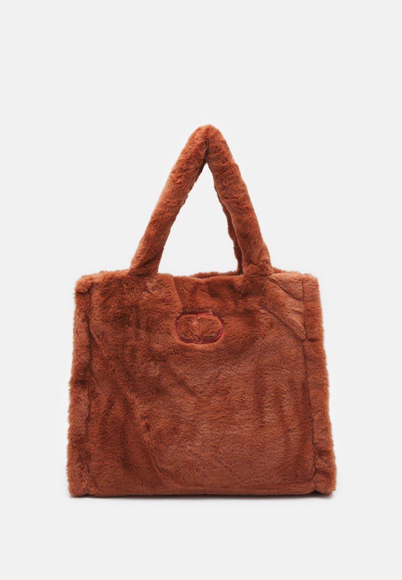 TWINSET - SOFT BAG - Handbag - tan powder