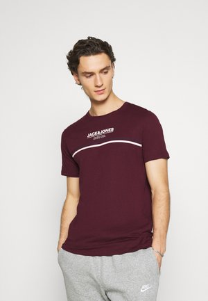 JJSHAKER TEE CREW NECK - T-shirt print - port royale