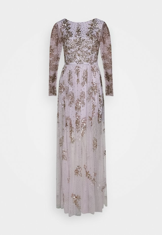 Occasion wear - lilac marble