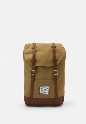 RETREAT UNISEX - Tagesrucksack - coyote slub
