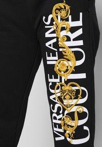 Versace Jeans Couture - Pantaloni sportivi - black/gold - 5