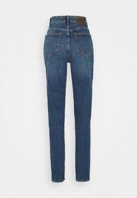 PIECES Tall - Straight leg jeans - dark blue denim - 1