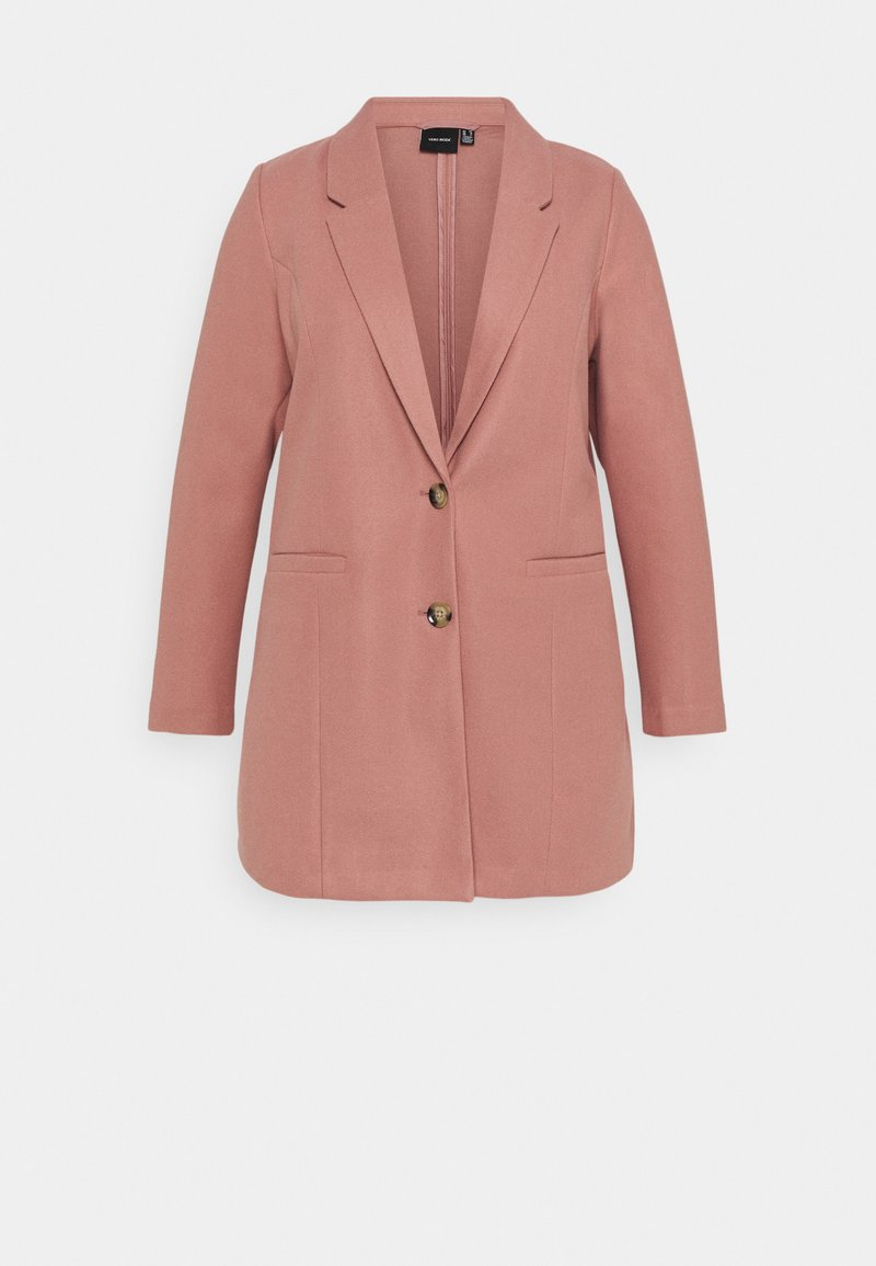 Vero Moda Curve - VMDAFNEJANEY JACKET - Classic coat - old rose