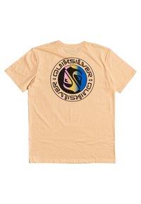 Quiksilver - MELLOW PHONIC  - Print T-shirt - apricot - 3