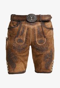 Krüger Dirndl - Kožené kalhoty - hellbraun - 5