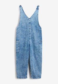 Next - LOOSE FIT - Jumpsuit - blue denim - 2