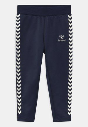 LINE UNISEX - Tracksuit bottoms - black iris