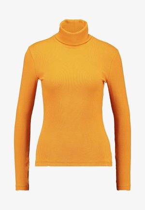 Topper langermet - dark yellow