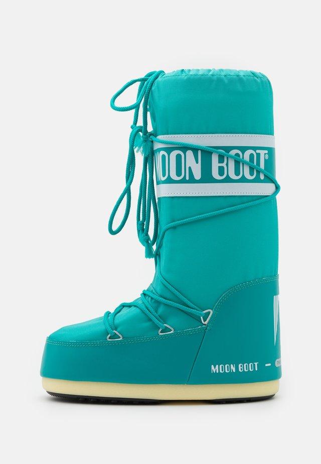 Snowboots  - smerald