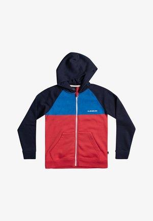 EASY DAY SCREEN - Zip-up sweatshirt - navy blazer