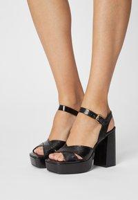 Minelli - Platform sandals - noir - 0
