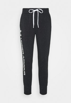 RIVAL SHINE JOGGER - Tracksuit bottoms - black