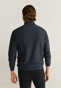 Mango - TENC - Vest - dunkelgrau meliert - 2