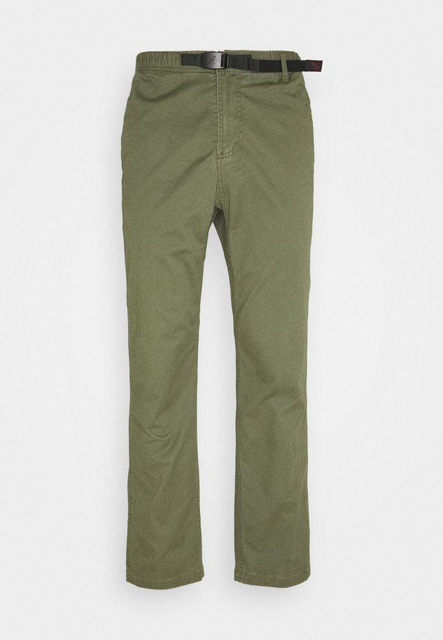 PANTS JUST CUT - Chinos - olive