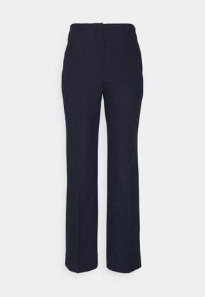 SLFLINA WIDE ANKLE PANT - Pantalones - sky captain