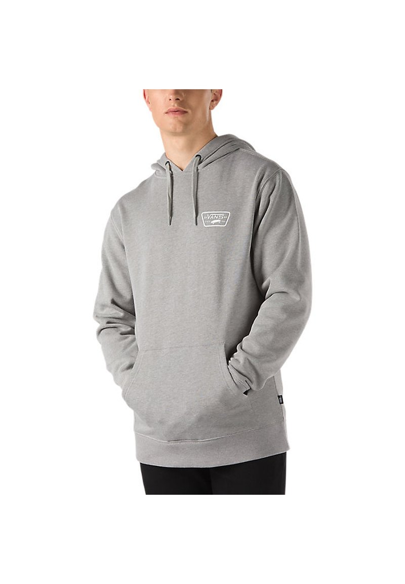 Vans - MN FULL PATCHED PO II - Hoodie - cement heather