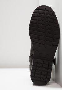 Friboo - Kovbojské/motorkářské boty - black - 5