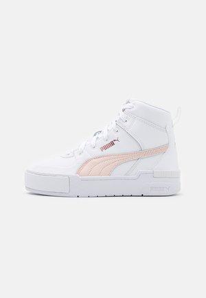 CALI SPORT TOP  - Zapatillas altas - white/cloud pink/rose gold