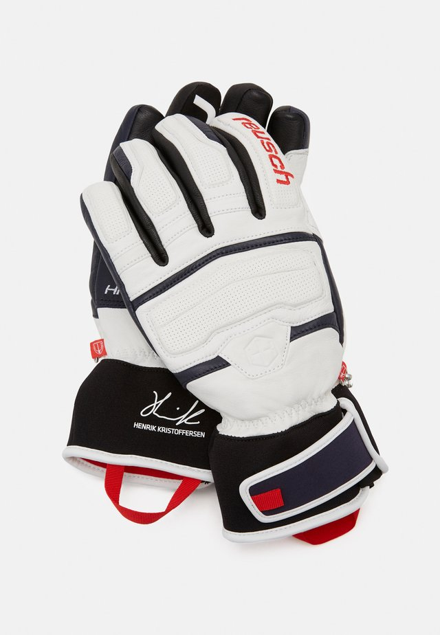 HENRIK KRISTOFFERSEN - Gloves - white