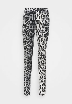 KAPAPPI  - Leggings - Trousers - black/white