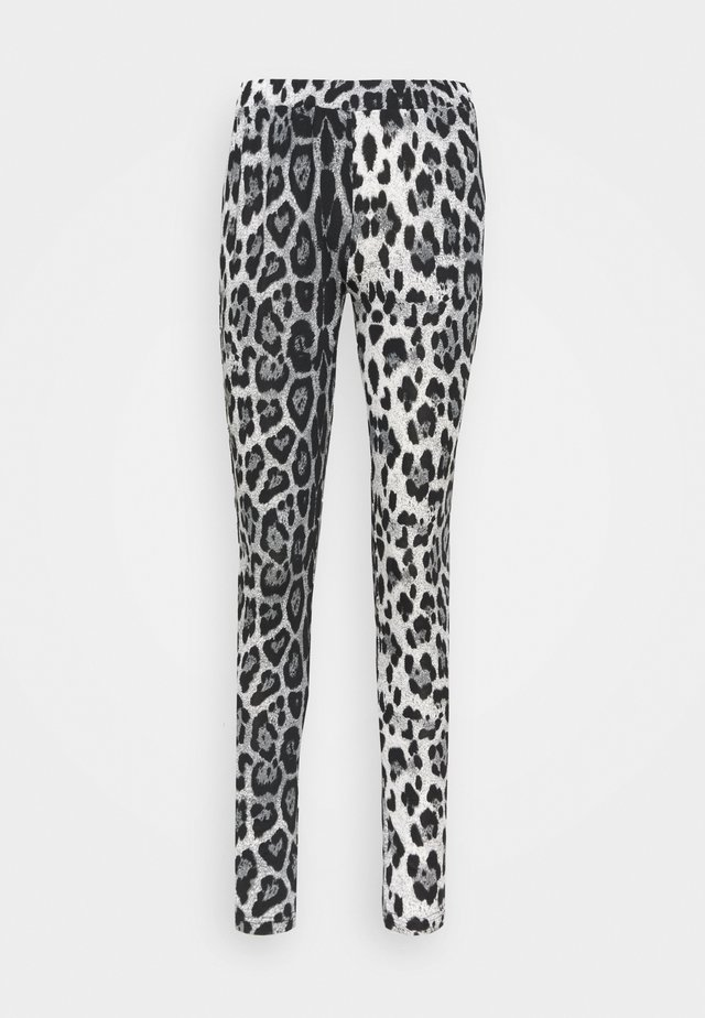 KAPAPPI  - Leggings - Trousers - black/white