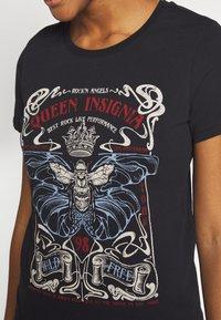 Even&Odd - T-shirt print - black - 5