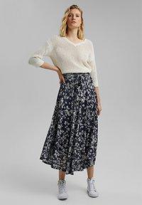 Esprit - Maxi skirt - navy - 1