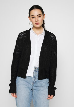 CHUNKY CROPPED - Gilet - black
