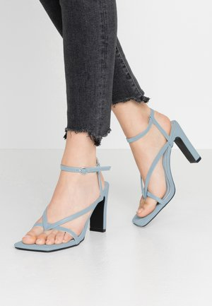 MURPHY - Sandaler med høye hæler - baby blue