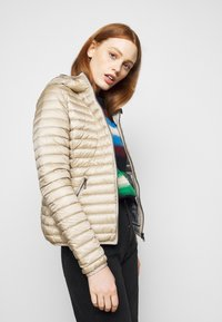 Colmar Originals - LADIES JACKET - Down jacket - toast/light steel - 4