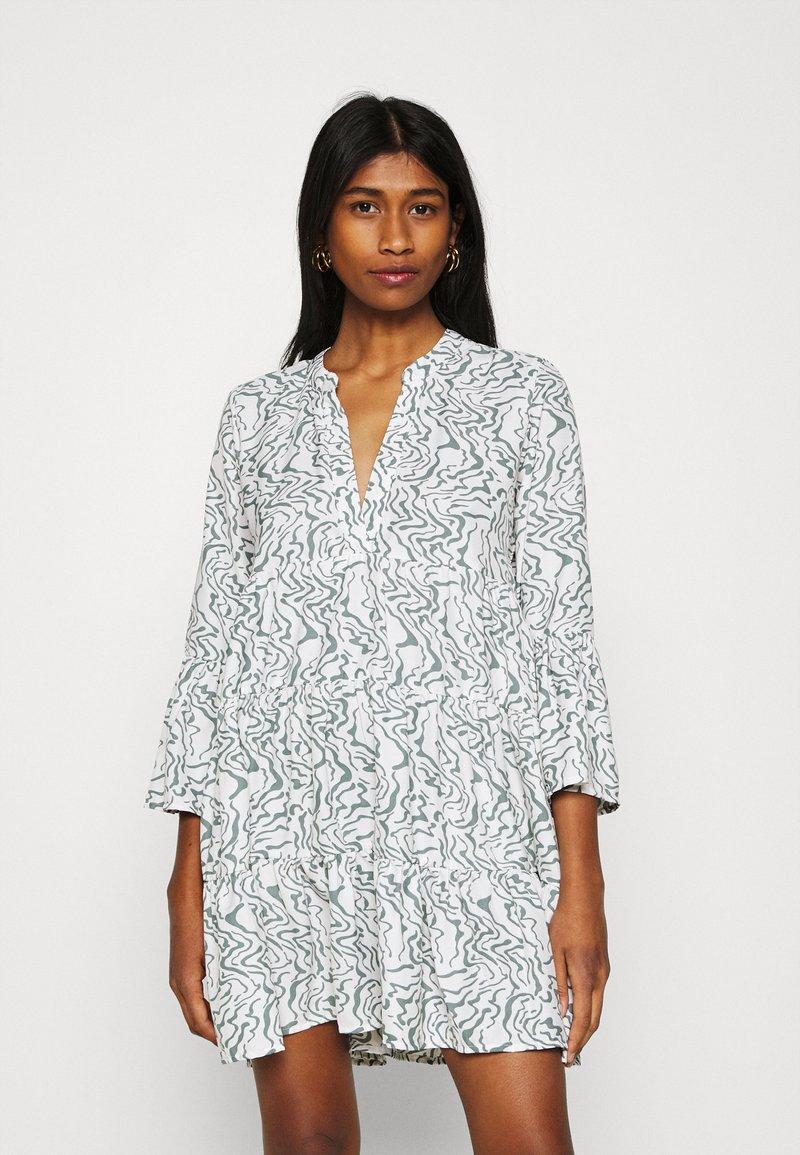 ONLY - ONLATHENA 3/4 DRESS - Day dress - white