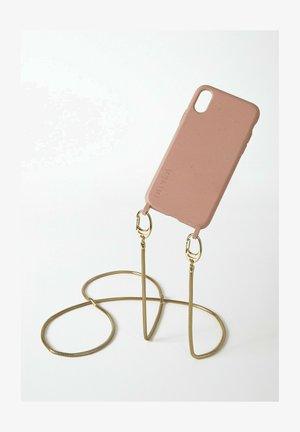IPHONE X / XS - BIOLOGISCH ABBAUBAR - SAND SNAKE GOLD - Phone case - goldfarben