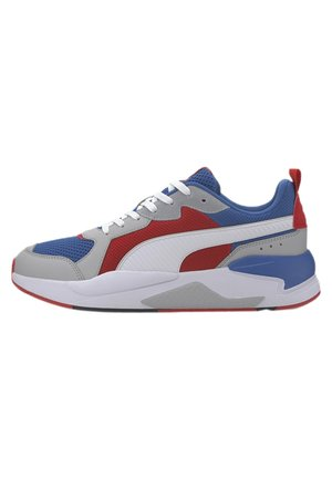 PUMA X-RAY TRAINERS UNISEX - Trainers - royal-white-red-high rise-