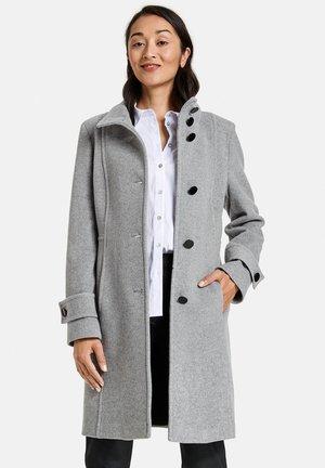 Classic coat - kiesel