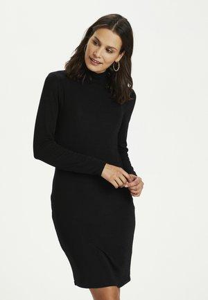 KAJAMAL - Jumper dress - black glitter