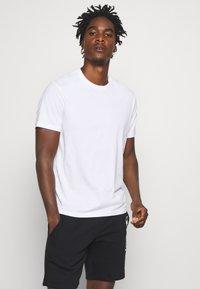 Champion - LEGACY CREW NECK 3 PACK - Basic T-shirt - black/white/grey - 1