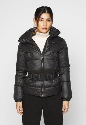 ONLTRIXIE BELTED PUFFER JACKET - Winter jacket - black